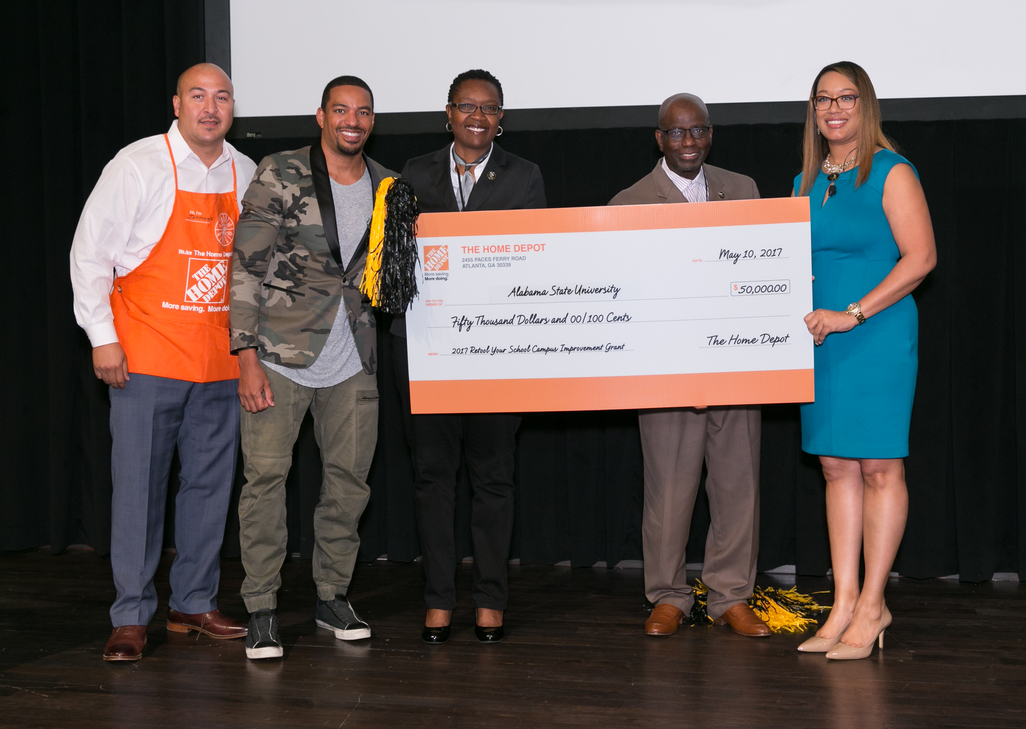 The Home Depot Announces Its Retool Your School Grant Award
